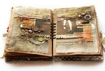 art journal~mixed media / by Yvonne Fitzell
