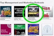 Sports Geek Podcast / Sports Geek Podcast available on iTunes, Stitcher, Soundcloud and everywhere podcasts are found.