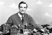Mister Rogers / Famous for creating, hosting, and composing the theme music for the educational preschool television series Mister Rogers' Neighborhood, Fred McFeely Rogers continues to inspire our kids and warm our hearts. Won't you be our neighbor?
