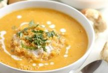 Soul Soothing Soups / #Healthy, hearty, homey soups to fill you up without losing taste