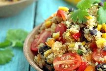Great Grains / Healthy foods made with various nutritious grains for dinners, meals and snacks!