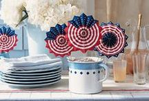 Independence Day - July4th / The best of the best! Amazing stuff to craft, cook and bake for the Fourth of July! If you do make only some of these brilliant ideas you can be sure that your celebrations of Independence Day will be the best. You will love it. Your family will love it. Your guests will love it!   Happy Fourth of July!!