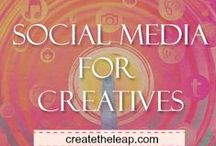 Social Media For Creatives / How Artists & Writers can use social media to promote and expose their work.