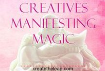 Creatives Manifesting Magic / This group board is for Creatives - Artists, Writers and all those who feel they are a creative! We believe you can create the lifestyle you desire with your creative work. We pin what we want to have, be and do as a Creative! Ask yourself, as a Creative, what are my big goals, desires and dreams?