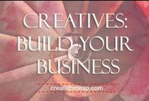 Creatives: Build Your Business / Artists & Writers! Discover how to build a business you love with your creative work. At Create The Leap, we focus on the inner game and the outer strategies to manifest the lifestyle you desire! createtheleap.com