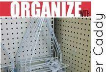 Organize ideas/home / by REGINA BIRD WASSER