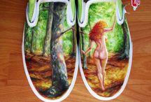 Na ponta dos pés... / *__*