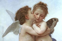 """William Adolphe Bouguereau / """"I produce a lot because I work all day long, without any breaks. It is the only way in fact of achieving good work."""" – William Bouguereau"""