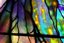Stained Glass Design / I love stained glass- the intricate designs and pure, saturated jewel-toned colors inspire me to continue to create beauty every day. Now where did I put that cutting board and grinder...? / by PurePearls.com