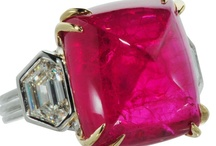 Ruby / Ruby, ruby, ruby, how do I love thee? The most decadent, sensuous gem in the world, let me count the ways...