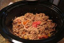 Crockpot Recipes / by Jennifer Childress