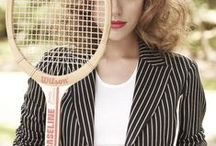 Tennis Anyone? / For the love of tennis! Tennis imagery and inspiration from artwork to fashion to the actual game.