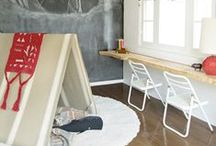 Spaces : Childs Play / Fun kid's room and playroom designs. #Kids #Decor