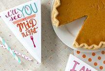 Celebrate / Fall & Thanksgiving
