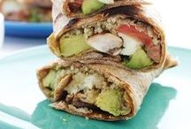 Sandwiches & Wraps / Healthy sandwich and wrap recipes : on-the-go ready!