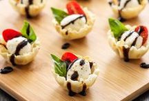 Appetizer & Side Recipes / Healthy appetizer and side recipes - perfect for BBQs, dinner parties, and more!