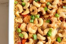 Dinner Recipes / Healthy dinner recipes - skillets, salads, chicken bakes, pastas, and more