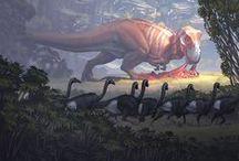 Dinosaurs and Prehistoric Animals / by meguskus