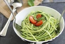 Spiralizer Recipes / Healthy spiralizer recipes - everything from dairy free to gluten free to paleo recipes
