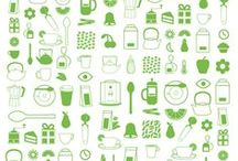 Icons / Graphics and Iconography for Graphic Design. Icons for UX and UI.