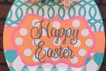 Holiday: Easter & Spring / Easter, Spring, Holiday, Door Hanger, Door Decorations / by Jennifer Dougherty