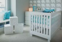 Nursery Decorating Ideas / Nursery room ideas, inspirations and loveable baby spaces.