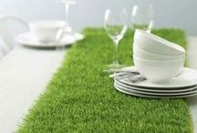 Creative Artificial Turf Design / We love these turf inspired ideas!