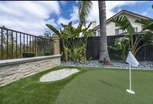 Golf Course Design / EasyTurf custom putting greens gives the ultimate golf experience! All EasyTurf backyard putting greens are designed to provide an unparalleled authenticity in both surface quality and aesthetics.