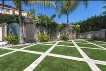 Modern Design / Modern design with EasyTurf! Ideas for backyard, front yard, patio, and corporations!