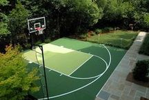 Sport Court Design / Design your residential sport court to fit your space and playing style.