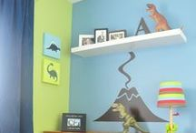 HomeWorks Etc / kids room decorating ideas with Homeworks Etc wall decor.  Kids room design and decorating inspirations.  Cool and cute spaces for girls and boys. Children's room decorations and kids room decor.