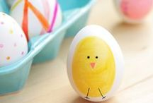 Spring and Easter / Spring Craft Inspiration and Easter projects for the kids!