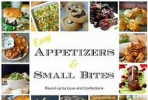 Appetizers, Tailgate & Party Food / Small bites and good eats for appetizers, tailgates, and parties!