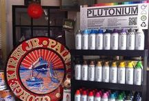 Stockists - USA & Canada / Visit our website for a Plutonium™ Paint retailer near you and shop online. ** New stores being added daily ** / by Plutonium™ Paint