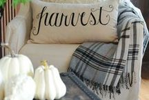 Fall Decorating / Fall home decor ideas