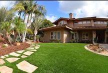 Front Yard Design / Get the perfect front yard curb appeal with EasyTurf!