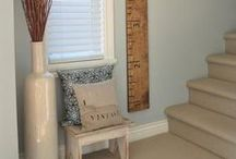 Growth Charts / Wood growth charts for nursery and kids rooms.  Neutral and themed to suit your space.