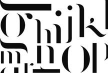 t y p o g r a p h y  &  w o r d s / by Design Hunter