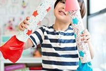 Patriotic Crafts for kids / Independence Day activities for kids, 4th of July crafts such as fireworks & flags, red white and blue party ideas & fun food recipes - all kinds of star spangled fun for families to celebrate!  Also find ideas for Memorial Day,  Veteran's Day, presidents