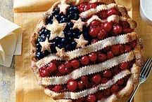 July 4 / Patriotic recipes and decor ideas for July the Fourth