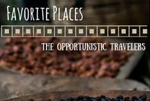 Favorite Places & Spaces / A collection of some of our favorite places we've been and some where we'd like to go.