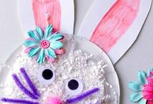 Egg- citing Easter Ideas! / Easter kids crafts, handprint, footprint, & thumbprint easter crafts, and all things Easter-y!