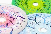 Creative Art Projects for Kids / fun kids crafts and ideas, art projects for kids, creativity, painting crafts, mixed media, oil pastels, scratch art