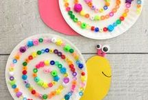 Animal Crafts & Bugs Galore! / Animal crafts for kids to make. Everything from paper plate animals to puppets, jungle animals to pets!