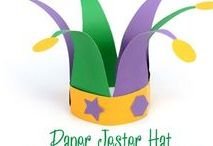 Mardi Gras Crafts & Ideas for Kids / Kid-friendly ways to celebrate Mardis Gras through crafts, activities, and food ideas.