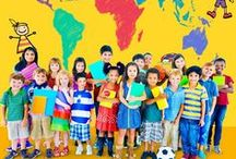 Crafts from Around the World / Introducing different countries and cultures to kids through crafts, activities, and food.