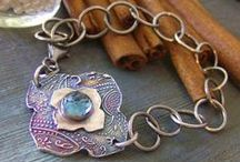 Metal Clay Bracelets & Charms / Beautiful bracelets and charms created in metal clay!