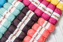 Yarn Stash / So many knitting and crocheting yarns, so little time. From yarn cakes to skeins, to yarn braids and everything in between, we've got you covered.