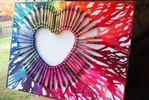 Kreativní Valentýn (láska) / Creative - love