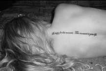 Tattoos / by Kayla McClintock